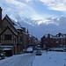 Shrewsbury in the snow