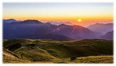 合歡北峰的清晨時分