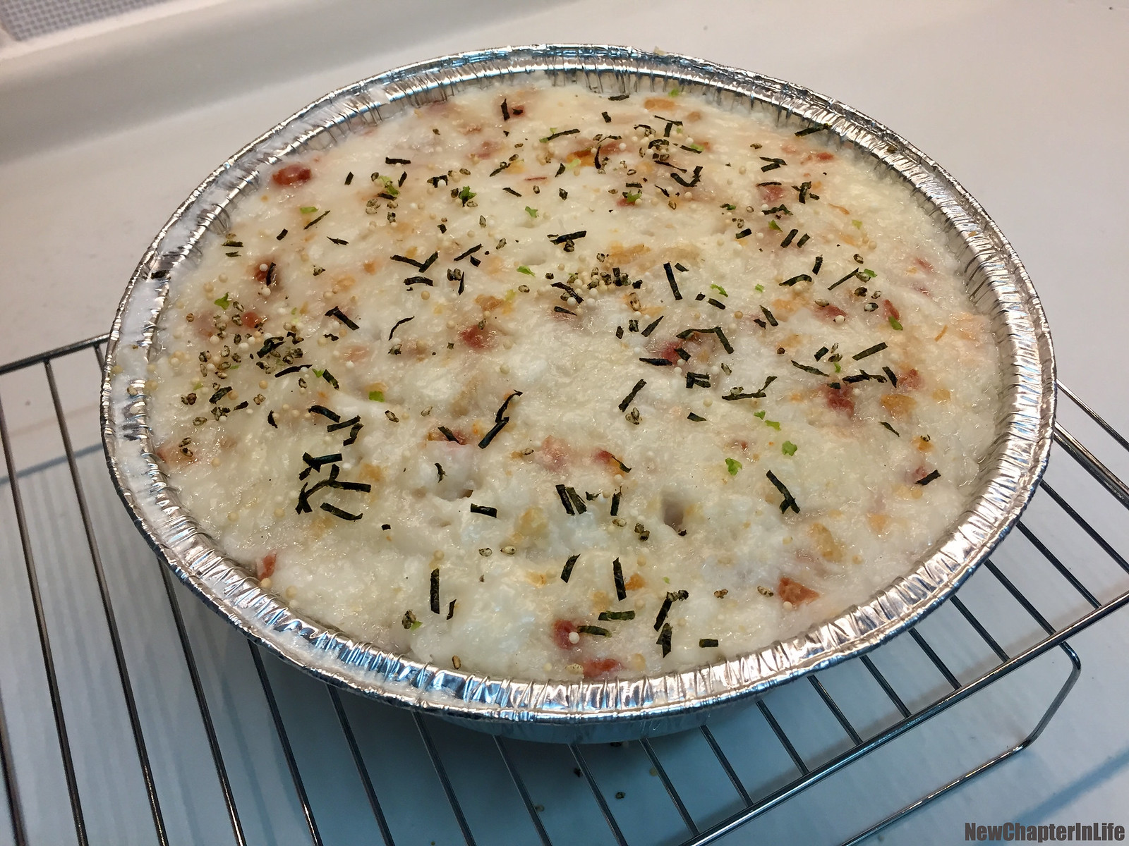 Exotic flavor Turnip Rice Pudding 另類風味蒸蘿蔔糕