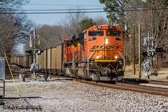 BNSF 9191 | EMD SD70ACe | BNSF Birmingham Subdivision