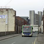 Preston Bus 20708 on the 1