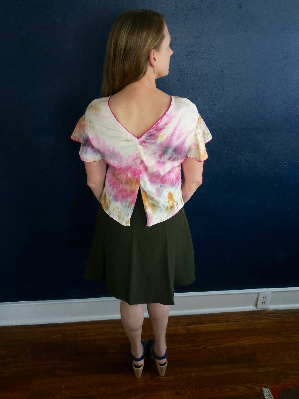 Papercut Flutter Blouse and Self Drafter Wrap Circle Skirt