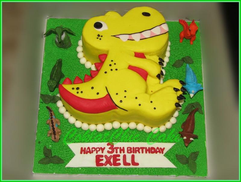 Cake Dinosaurus EXELL 20 cm