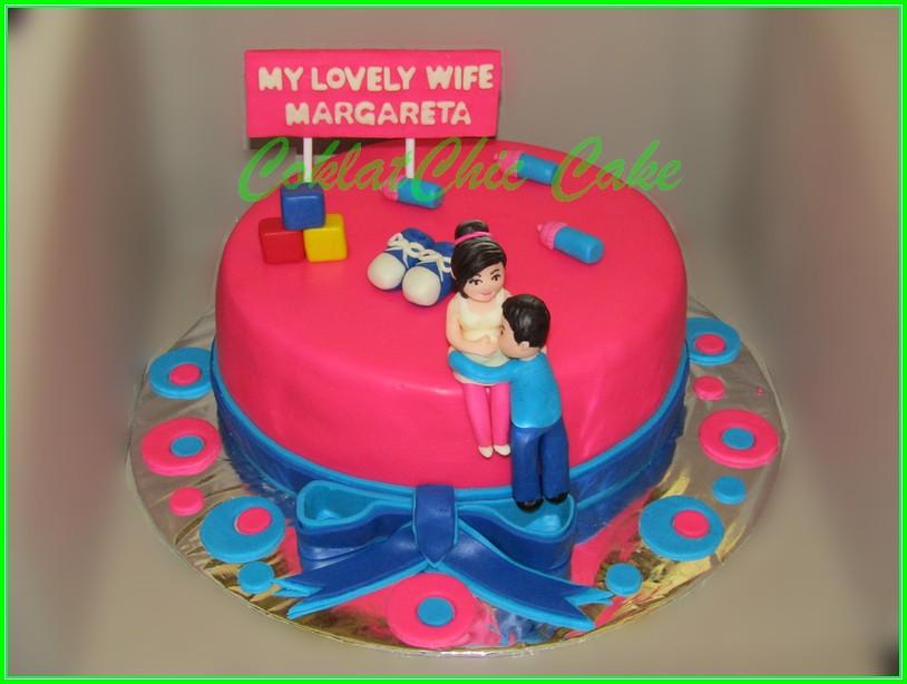 Cake Ibu Hamil MARGARETA 20cm
