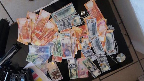 Fake banknotes found in South Africa