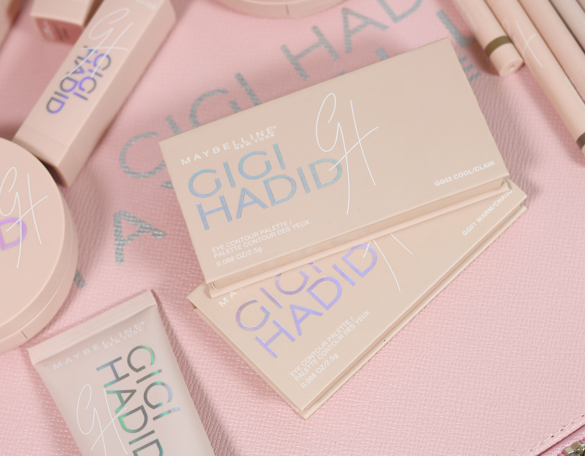 25 Gigi Hadid Maybelline Collection Review Swatches Photos - Gen-zel She Sings Beauty