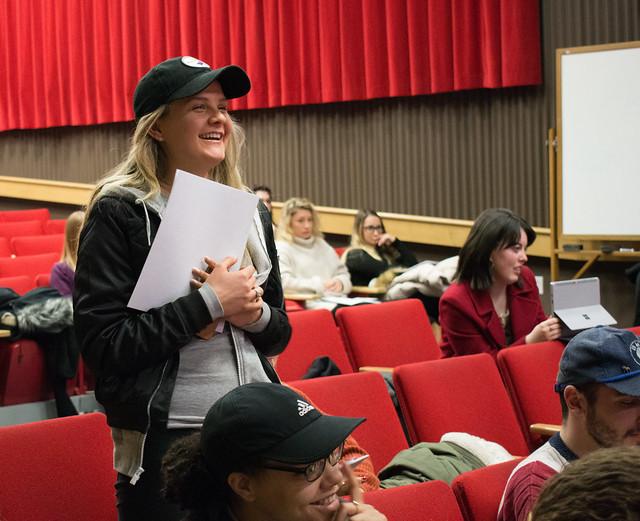 YWCA'S Chaz Kellem Inspires Students