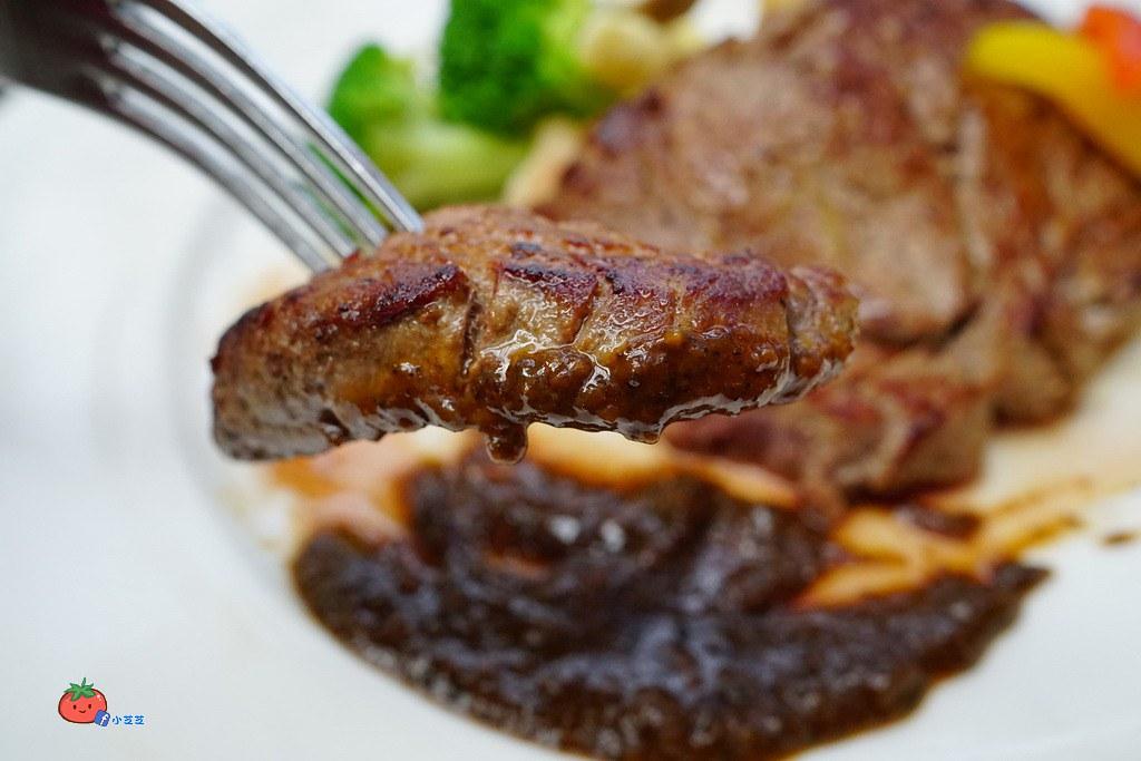 台北世貿一館美食 麗思坊西餐廳牛排