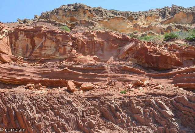 Discordância angular Paleozoico-Triássico