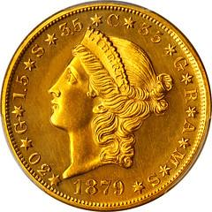 1879 Quintuple Stella obverse