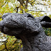 crawling hare | yorkshire sculpture park