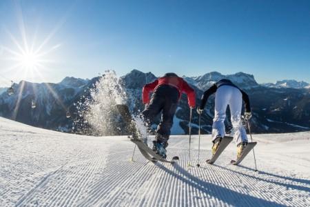 Kde v Jižním Tyrolsku lyžují profesionálové