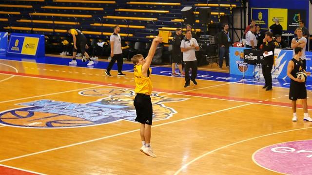 Copa del Rey: Entrenamiento CB Canarias