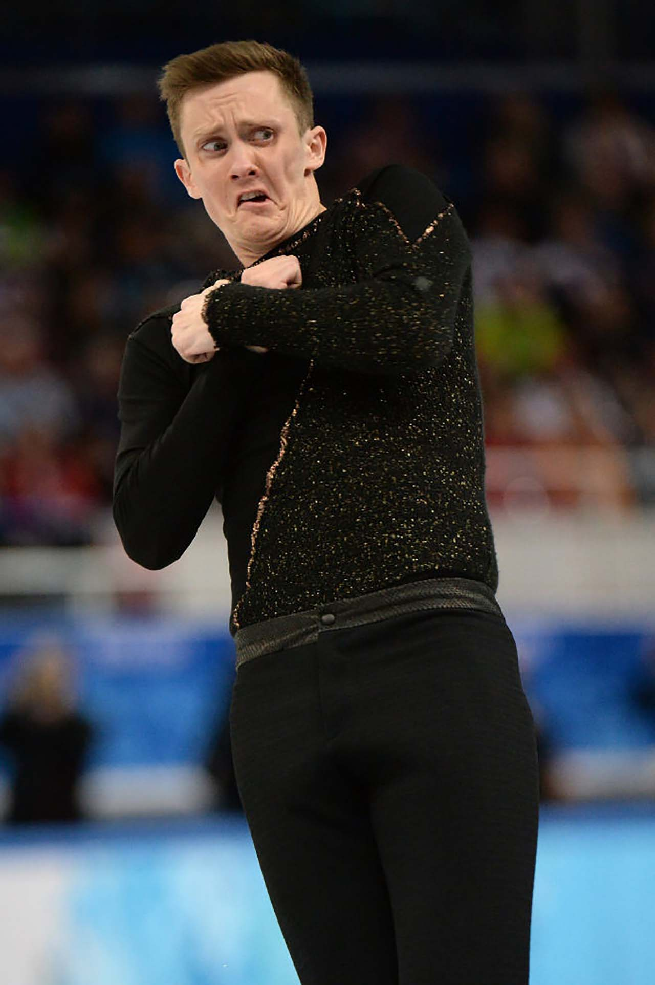 20 Hilarious Mid-Performance Faces Of Olympic Figure Skaters