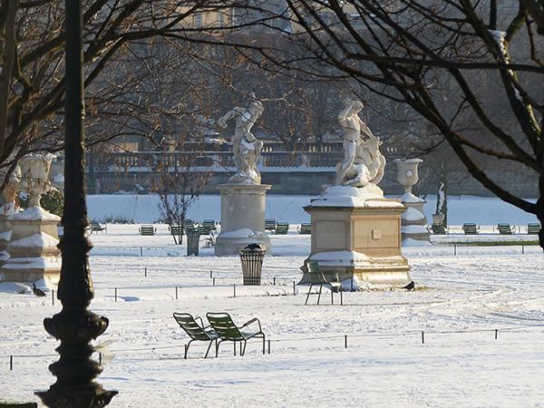 les statues des Tuileries