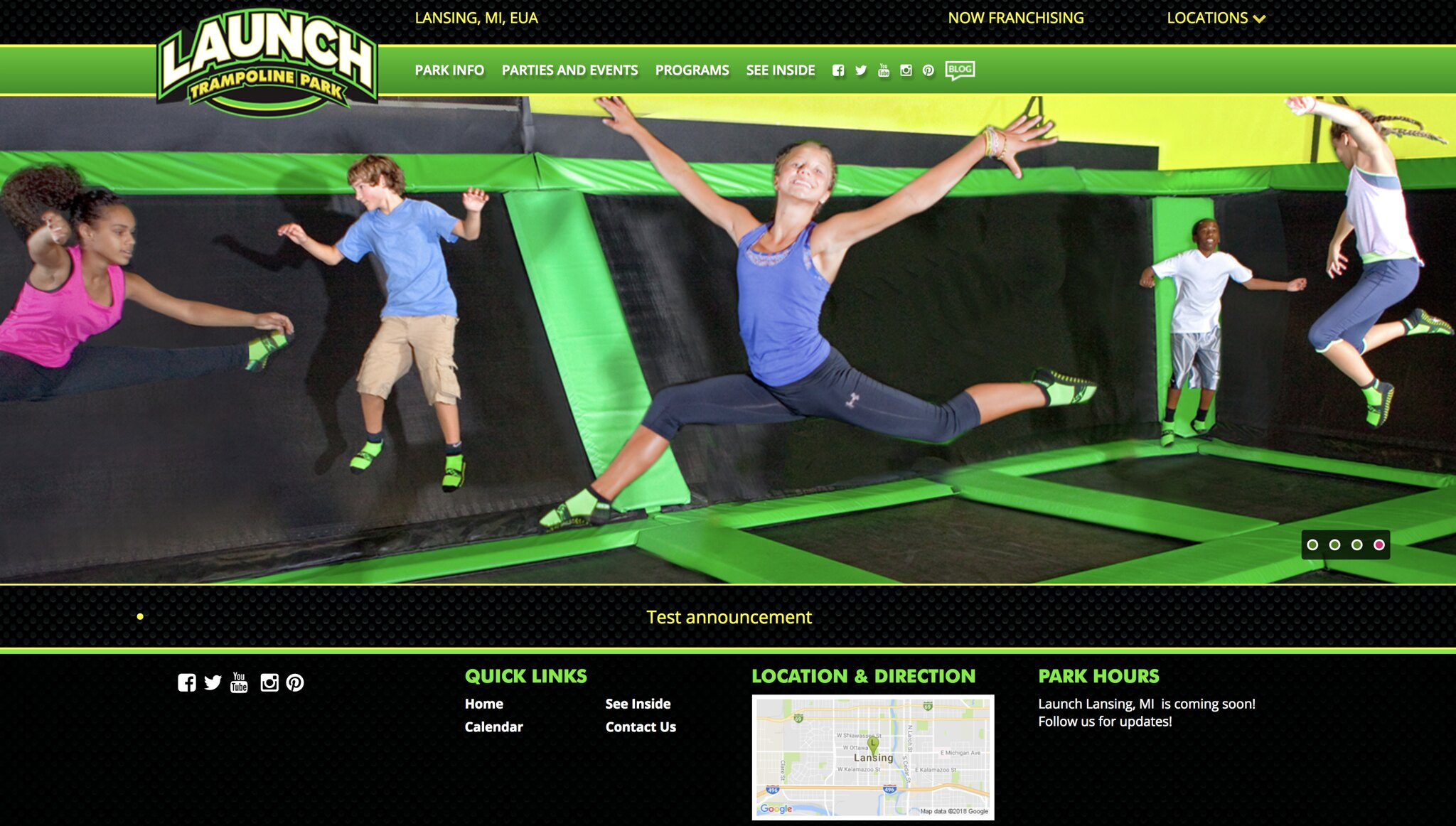 Meridian Mall Confirms Launch Trampoline Park Will Open This Summer
