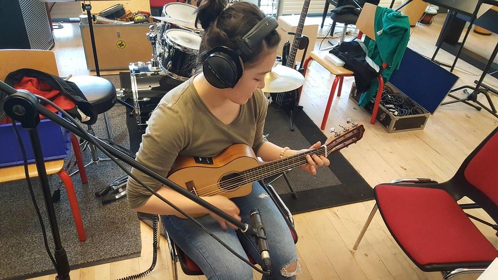 Madoka composing