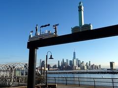 View of Manhattan from Hoboken Terminal