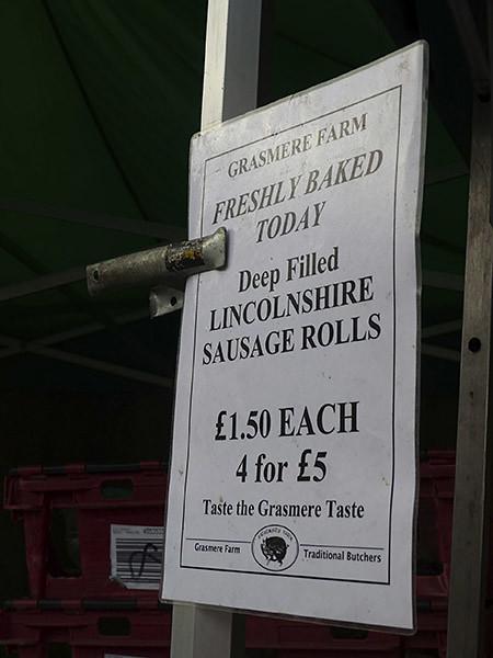 lincolnshire sausage rolls
