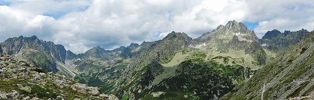 Hiking to Batizovské pleso, High Tatras, Slovakia