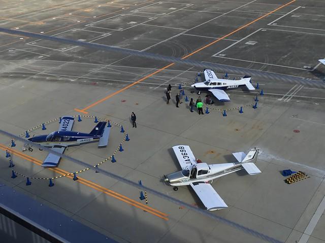 県営名古屋空港「空の日」「空の旬間」記念イベント 機体展示準備風景 0D06DC0A-4EAE-4CDF-984C-B4F77445CE65