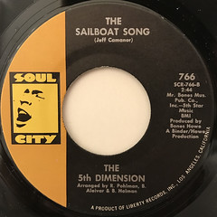 THE 5TH DIMENTION:STONED SOUL PICNIC(LABEL SIDE-B)