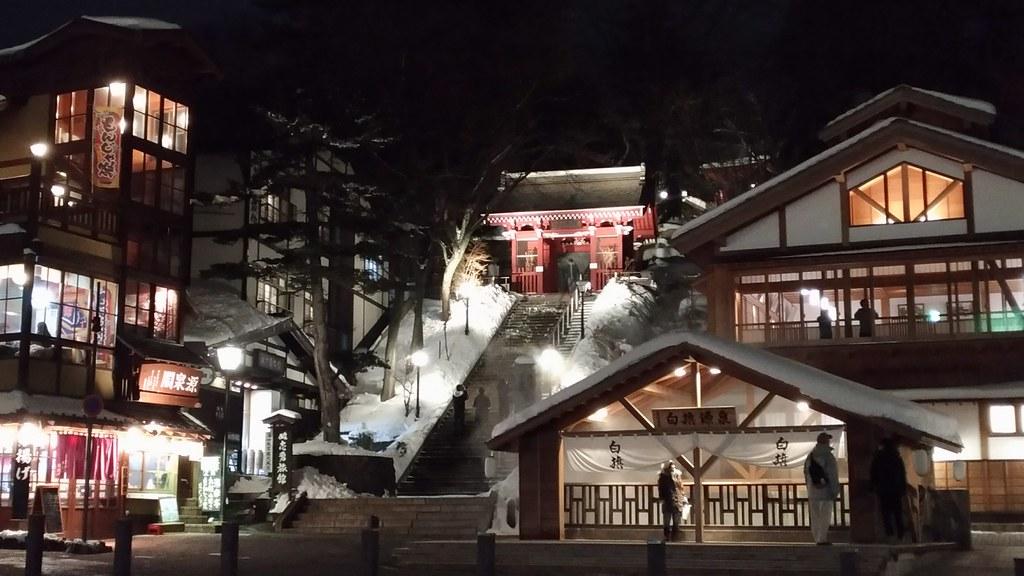 光泉寺の夜景