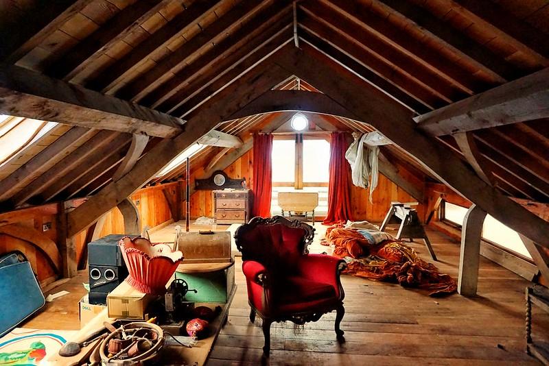 Inside a barn house in Dumfries & Galloway, Scotland