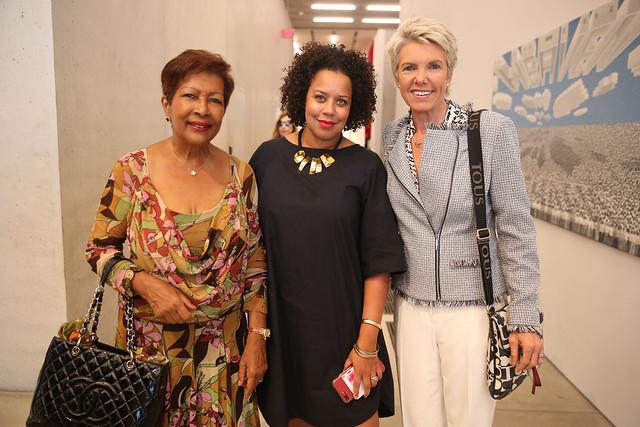 Mireille Chauncy-Gonzalez, Jessica Sirmans, & Kathy Andersen