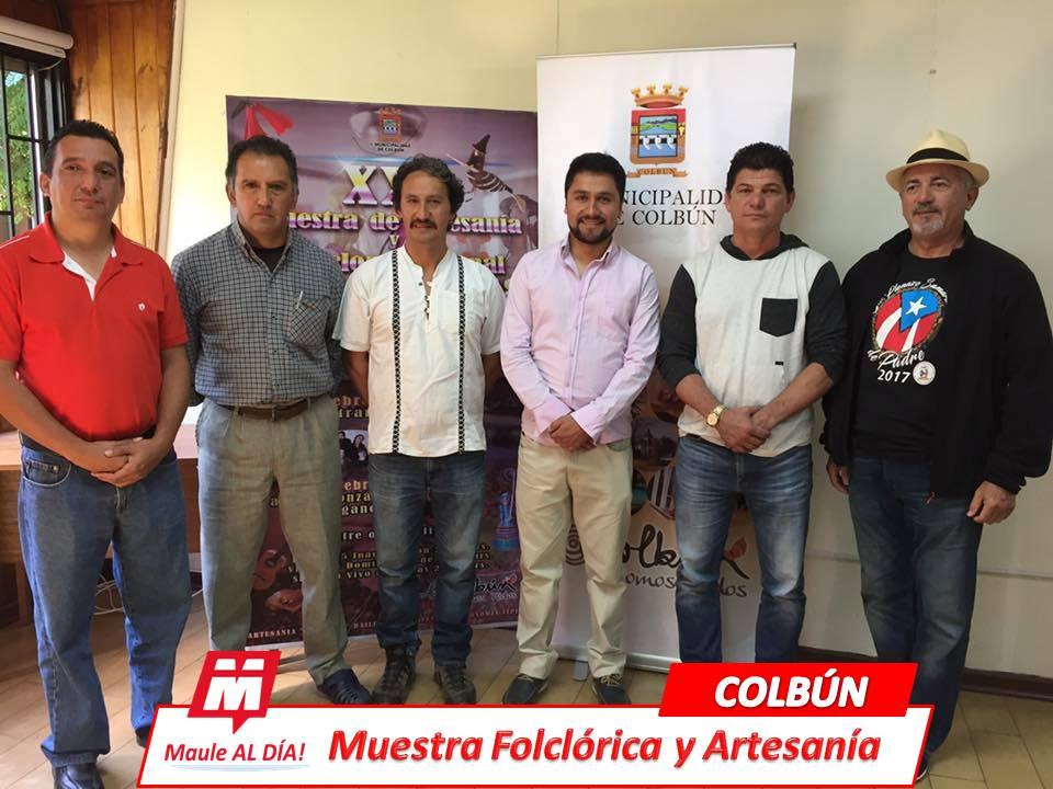COLBÚN Realizan Lanzamiento de la XXI Muestra de Artesanía y Folclor Panimávida 2018