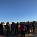 Panorámicas de la ruta de senderismo Ecologistas en Acción Valle de Alcudia de Puertollano (Ciudad Real). 11-2-2018