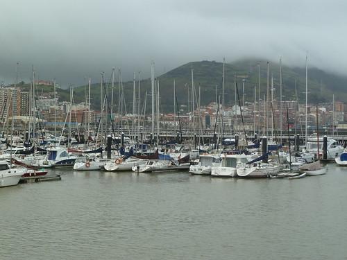 En el puerto del Club Marítimo del Abra