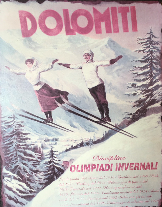 Dolomiti Olimpiadi Invernali