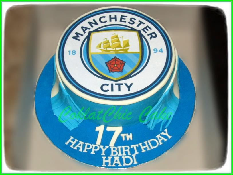Cake Manchester City HADI 20cm