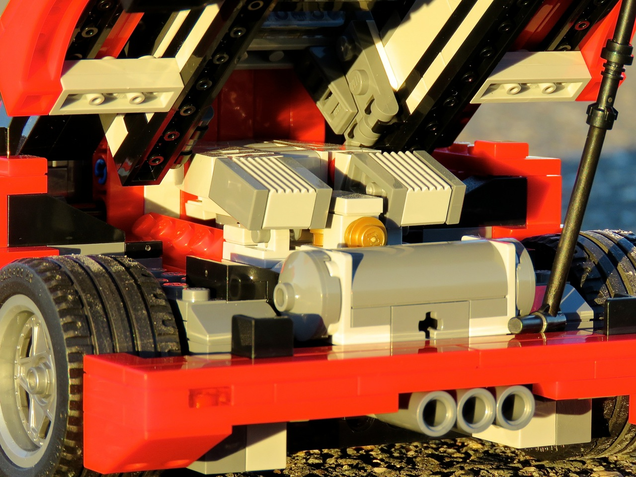 Lego Ferrari F40 6