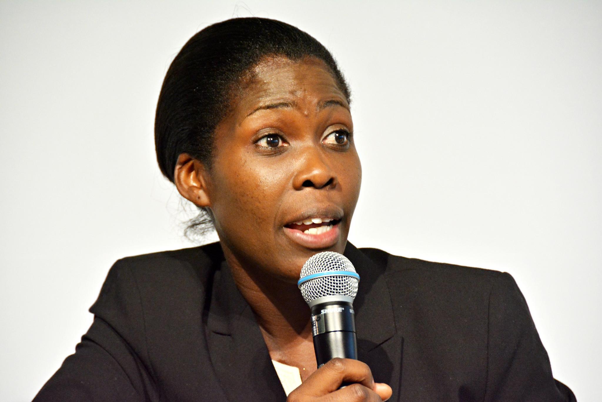 Emma Naluyima at GFFA