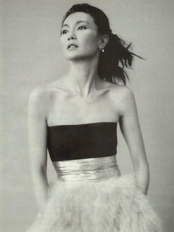 Asian Beauty, Maggie Cheung, Vogue China, No.67, Oct. 2006