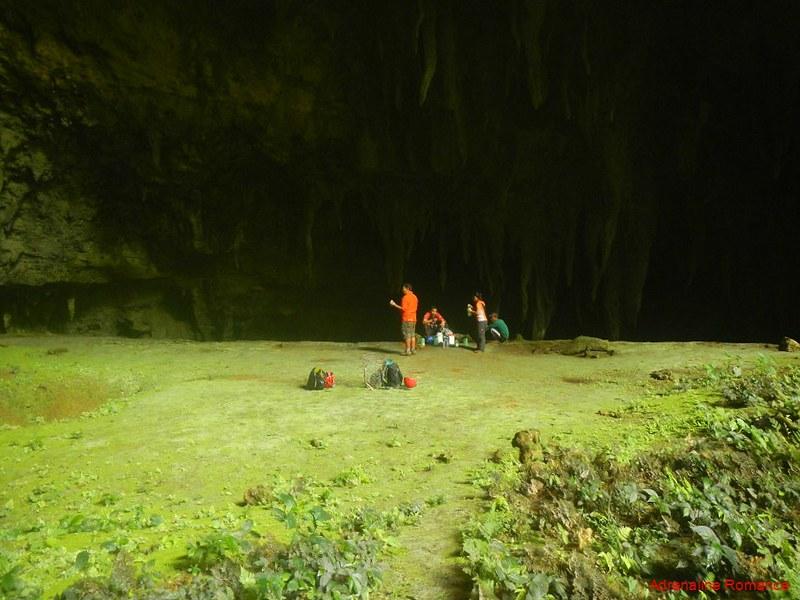 Langun Cave campsite