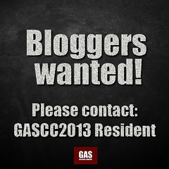 GAS_Bloggers wanted!