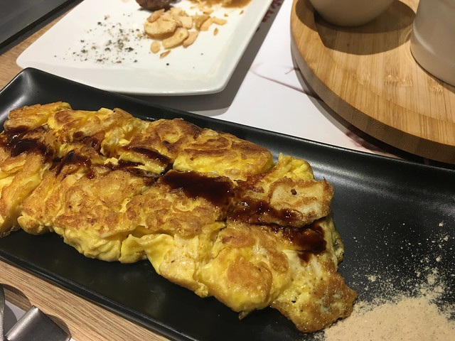 hot 燒起司蛋捲@桃園hot 7新鉄板料理