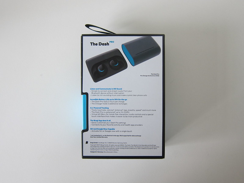 Bragi The Dash Pro - Box Back