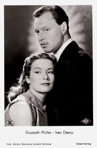 Elisabeth Müller and Ivan Desny in André und Ursula (1955)