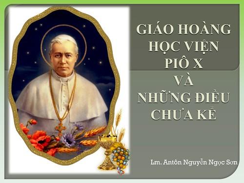 GHHV Pio X