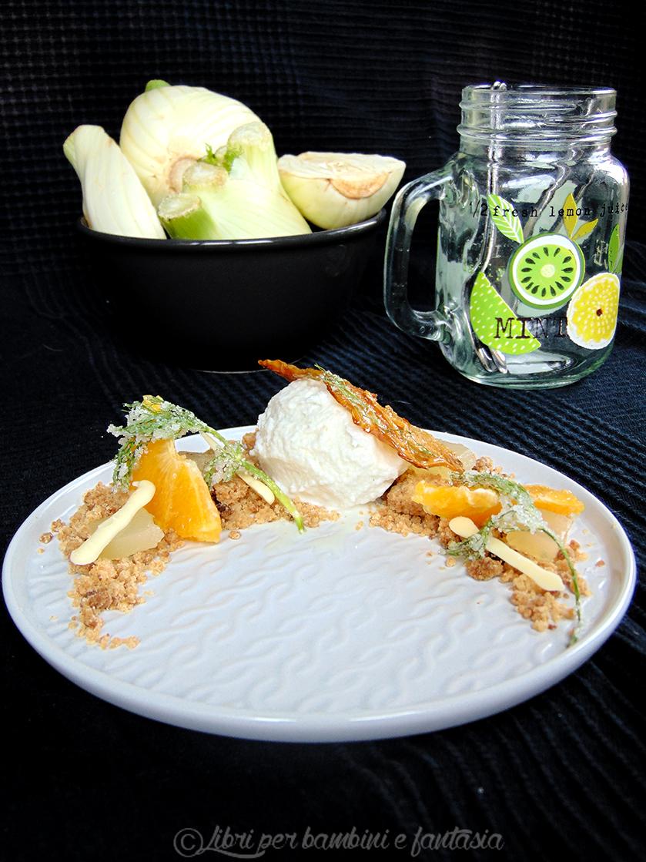 gelato al finocchio con arance e gelatina di limone6