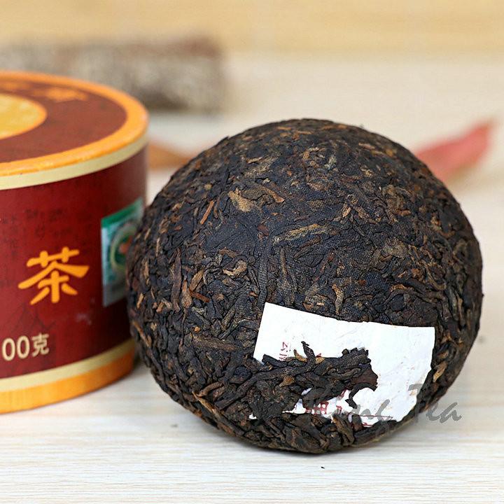 2017 XiaGuan DaLiTuo  Boxed 100g *5=500g Puerh Ripe Tea Shou Cha