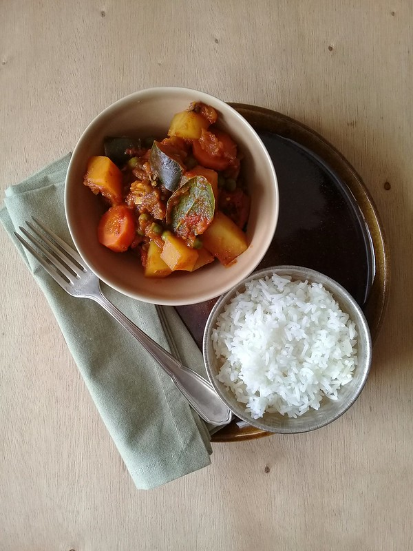 Vegetable tagine / Tagine de legumes