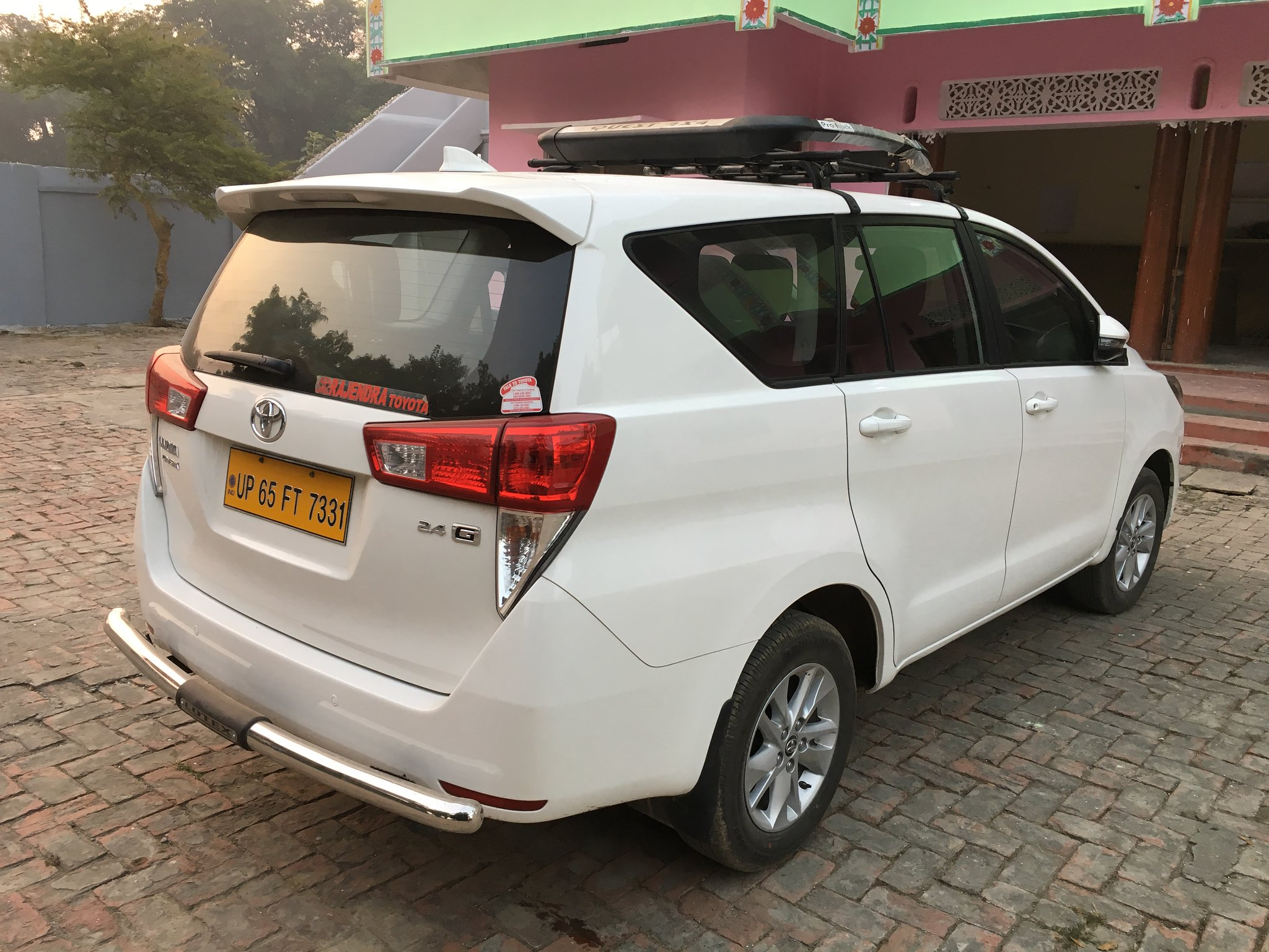 Innova Crysta rear view