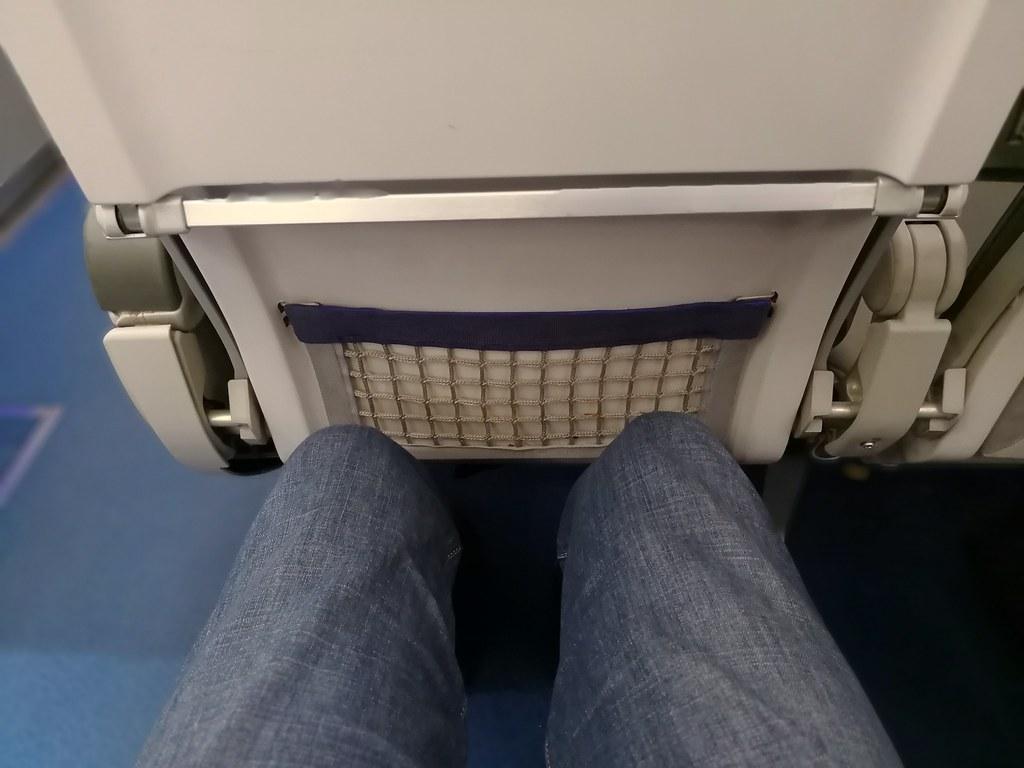Legroom on the seat
