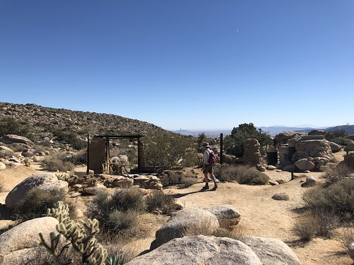 Borrego Springs - Ghost Mountain with Linda