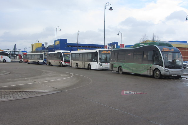 Four In A Row, Ashton-under-Lyne Bus Station